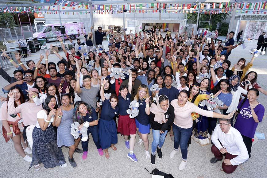 International students enjoying Melbourne!