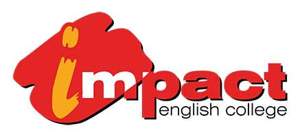 Impact English College logo