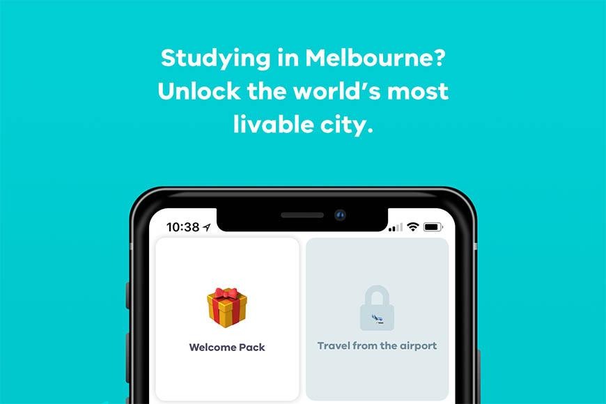 Unlock Melbourne App